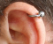 Piercing helix a scapha