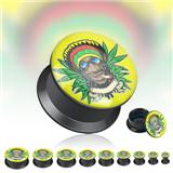 Plug do ucha - Rastafari Blaze PTP00123