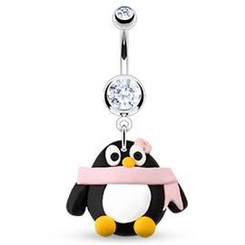 Piercing do pupíku - tučňák PBV00471
