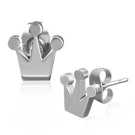 Náušnice - královská koruna NAU00687