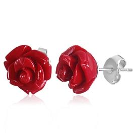 Náušnice - růže NAU00783