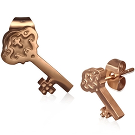 Náušnice - klíč NAU00790
