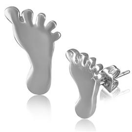 Náušnice - noha NAU00825