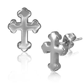 Náušnice - kříž NAU00833