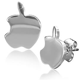 Náušnice - logo Apple NAU00844