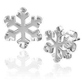 Náušnice - sněhová vločka NAU00855