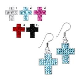 Náušnice - kříže NAU00876
