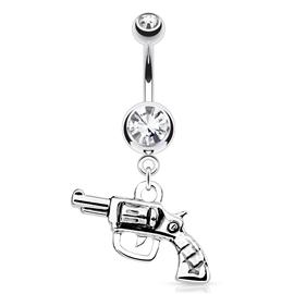 Piercing do pupíku s pistolí PBV00544