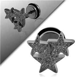 Falešný piercing - hvězdičky PFA00222