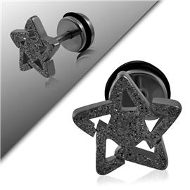 Falešný piercing - hvězdička PFA00223