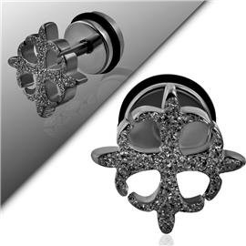 Falešný piercing - kříž PFA00225