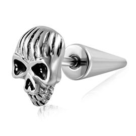 Falešný piercing - lebka PFA00242