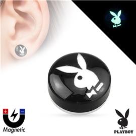 Falešný piercing magnetický svítící - Playboy PFA00267