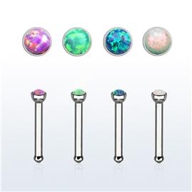 Piercing do nosu - Opal PNO00238