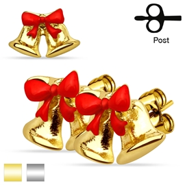 Náušnice - Vánoční zvonečky NAU00942