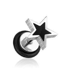 Falešný piercing do ucha - hvězdička PFA00286