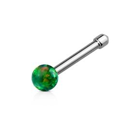 Piercing do nosu - opal kamínek PNO00245