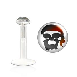 Labreta - pirátská hlava PLA00238