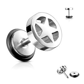Falešný piercing do ucha PFA00035