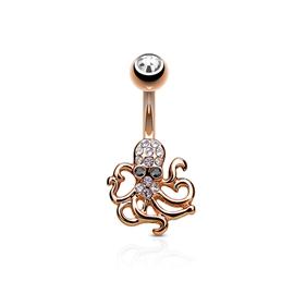 Piercing do pupíku - chobotnice PBP00283