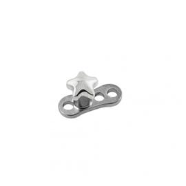Microdermal piercing - hvězdička PMD00049