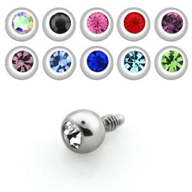 Náhradní kulička s kamínkem pro microdermal ND00010