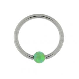 Kruh s opálovou kuličkou PKR00121