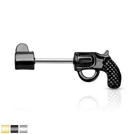 Piercing do bradavky - revolver PBR00044